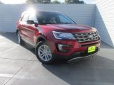 2016 Ruby Red Metallic Tri-Coat Ford Explorer XLT #106113559