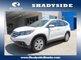 2013 White Diamond Pearl Honda CR-V EX AWD #106150945
