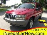 2002 Inferno Red Tinted Pearlcoat Jeep Grand Cherokee Laredo #106150820