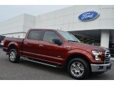 2015 Bronze Fire Metallic Ford F150 XLT SuperCrew #106151027