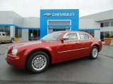 2008 Inferno Red Crystal Pearl Chrysler 300 LX #106176576