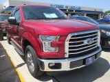 2015 Ruby Red Metallic Ford F150 XLT SuperCab #106176358