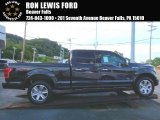 2015 Tuxedo Black Metallic Ford F150 Platinum SuperCrew 4x4 #106176424