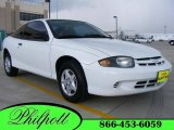 2003 Olympic White Chevrolet Cavalier Coupe #10603467