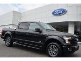 2015 Tuxedo Black Metallic Ford F150 XLT SuperCrew #106176485