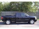 2007 Black Chevrolet Silverado 1500 LT Extended Cab #10605553