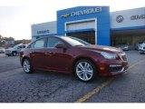 2016 Siren Red Tintcoat Chevrolet Cruze Limited LTZ #106176670