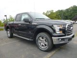 2015 Tuxedo Black Metallic Ford F150 XLT SuperCab 4x4 #106176464