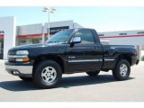 2002 Onyx Black Chevrolet Silverado 1500 LS Regular Cab 4x4 #10605153