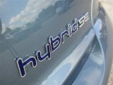 Hyundai Sonata Hybrid Badges and Logos
