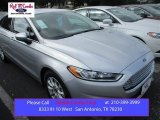 2016 Ingot Silver Metallic Ford Fusion S #106213172