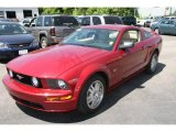 2007 Redfire Metallic Ford Mustang GT Premium Coupe #10608068