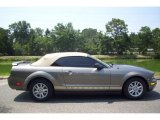 2005 Mineral Grey Metallic Ford Mustang V6 Deluxe Convertible #10605594