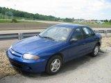 2003 Arrival Blue Metallic Chevrolet Cavalier Sedan #10598554
