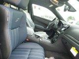 2015 Chrysler 300 S AWD Black/Ambassador Blue Interior
