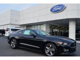 2015 Black Ford Mustang V6 Coupe #106241829