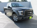 2015 Magnetic Metallic Ford F150 XL SuperCab #106241883