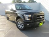 2015 Tuxedo Black Metallic Ford F150 XL SuperCab #106241882
