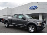 2015 Magnetic Metallic Ford F150 XL SuperCab #106241826