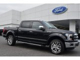 2015 Tuxedo Black Metallic Ford F150 Lariat SuperCrew 4x4 #106241825