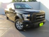 2015 Tuxedo Black Metallic Ford F150 XL SuperCab #106241879