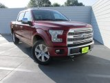 2015 Ruby Red Metallic Ford F150 Platinum SuperCrew 4x4 #106241875