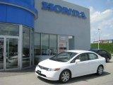 2007 Taffeta White Honda Civic LX Sedan #10598572