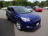 2016 Deep Impact Blue Metallic Ford Escape Titanium 4WD #106242003