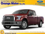 2015 Ruby Red Metallic Ford F150 XLT SuperCab 4x4 #106241861
