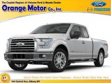 2015 White Platinum Tricoat Ford F150 Lariat SuperCrew 4x4 #106241859