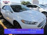 2015 White Platinum Metallic Ford Fusion Titanium #106265169