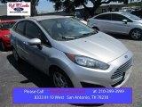2015 Ingot Silver Metallic Ford Fiesta SE Sedan #106265161
