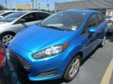 Blue Candy Metallic Ford Fiesta in 2015