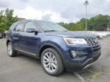 2016 Blue Jeans Metallic Ford Explorer Limited 4WD #106265298