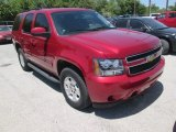 2013 Crystal Red Tintcoat Chevrolet Tahoe LS #106265218