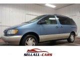 1998 Denim Blue Mica Pearl Metallic Toyota Sienna LE #106265075