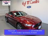 2015 Ruby Red Metallic Ford Mustang EcoBoost Premium Coupe #106304151