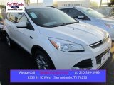 2015 White Platinum Metallic Tri-Coat Ford Escape SE #106304147