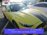 2015 Triple Yellow Tricoat Ford Mustang GT Premium Coupe #106304141