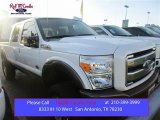 2015 White Platinum Ford F250 Super Duty King Ranch Crew Cab 4x4 #106304139