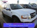 2015 White Platinum Metallic Tri-Coat Ford Expedition EL King Ranch #106304137