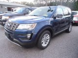 2016 Blue Jeans Metallic Ford Explorer XLT #106304496