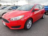 2015 Race Red Ford Focus SE Hatchback #106304494