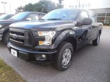 2015 Tuxedo Black Metallic Ford F150 XL SuperCrew 4x4 #106304460