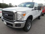 2015 Oxford White Ford F250 Super Duty XL Regular Cab 4x4 #106304452