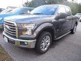 2015 Magnetic Metallic Ford F150 XLT SuperCab #106304451