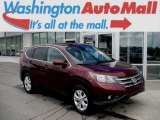 2013 Basque Red Pearl II Honda CR-V EX AWD #106304190