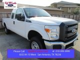 2015 Oxford White Ford F250 Super Duty XL Super Cab 4x4 #106334502