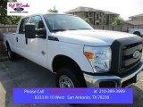 2015 Oxford White Ford F250 Super Duty XL Crew Cab 4x4 #106334501
