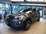 2016 Magnetic Metallic Ford Explorer Sport 4WD #106334560